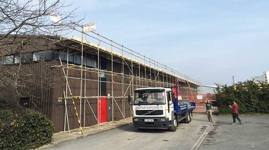 Commercial Scaffolding Northamptonshire
