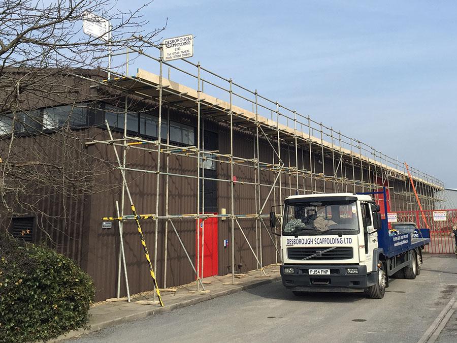 desborough scaffold industrial northamptonshire